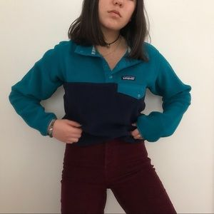Perfect Teal/Blue Patagonia Synchilla